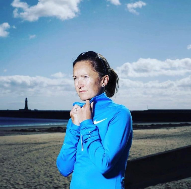 Aly Dixon marathon runner