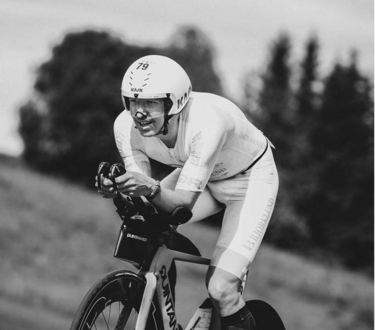 Allan Hovda triathlete
